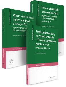 PAKIET: Ustawa PZP - Nowe obowiązki zamawiającego + Tryb podstawowy + Wzory regulaminów i pism