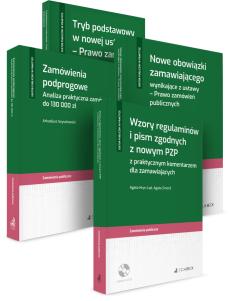 PAKIET: Ustawa PZP - Zamówienia podprogowe + Nowe obowiązki zamawiającego + Tryb podstawowy + Wzory regulaminów i pism
