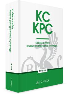 KC. KPC. Kodeks cywilny. Kodeks postępowania cywilnego. Edycja Sędziowska