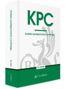 KPC. Kodeks postępowania cywilnego