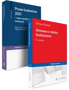 PAKIET: Umowa o roboty budowlane + Prawo budowlane 2021