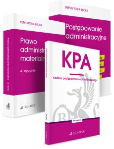 PAKIET: Postępowanie administracyjne + Prawo administracyjne materialne + KPA