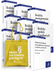 PAKIET: Orzecznictwo Aplikanta 9 zbiorów: KC + KPC + KRO + KK + KPK + KSH + KPA + Prawo administracyjne materialne + Odpowiedzialność dyscyplinarna adwokatów i radców prawnych
