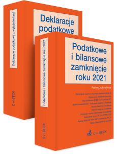 PAKIET: Podatkowe i bilansowe zamknięcie roku 2021 + Deklaracje podatkowe z wyjaśnieniami