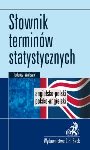 Słownik terminów statystycznych. Angielsko-polski/Polsko-angielski