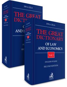 PAKIET: The Great Dictionary of Law and Economics. Vol. I. English - Polish + Vol. II. Polish - English