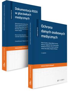 PAKIET: Dokumentacja RODO w placówkach medycznych + Ochrona danych osobowych medycznych