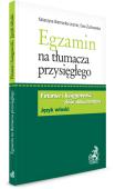 Egzamin na tłumacza przysiegłego. Finanse i księgowość - zbiór dokumentów w języku włoskim