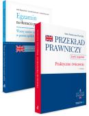 PAKIET: Egzamin na tłumacza przysięgłego. Wzory umów i innych pism w prawie spółek + Przekład prawniczy. Praktyczne ćwiczenia. Język angielski