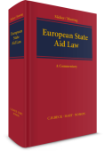 European State Aid Law. A Commentary