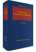 International Commercial Arbitration. A Handbook