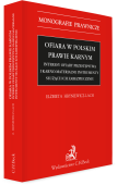Ofiara w polskim prawie karnym. Interesy ofiary przestępstwa i karno-materialne instrumenty służące ich zabezpieczeniu