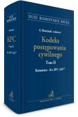 Kodeks postępowania cywilnego. Tom II. Komentarz do art. 205(1)-424(12)