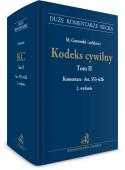 Kodeks cywilny. Tom II. Komentarz do art. 353–626