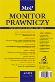 Monitor Prawniczy Nr 5/2019