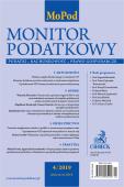 Monitor Podatkowy Nr 4/2019