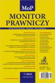 Monitor Prawniczy Nr 7/2019