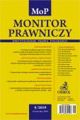 Monitor Prawniczy Nr 8/2019