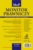 Monitor Prawniczy Nr 10/2019
