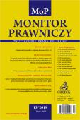 Monitor Prawniczy Nr 13/2019