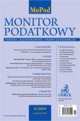 Monitor Podatkowy Nr 8/2019