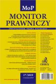 Monitor Prawniczy Nr 17/2019