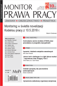 Monitor Prawa Pracy Nr 10/2019