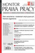 Monitor Prawa Pracy Nr 5/2020