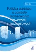 Polityka państwa w zakresie finansowania inwestycji mieszkaniowych
