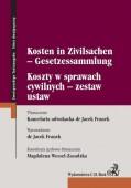 Koszty w sprawach cywilnych - zestaw ustaw. Kosten in Zivilsachen - Gesetzessammlung