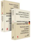 PAKIET: Słownik terminologii gospodarczej. Bankowość-Finanse-Prawo. Tom 1 Niemiecko-polski + Tom 2 Polsko-niemiecki