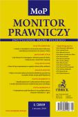 Monitor Prawniczy Nr 1/2019