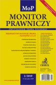 Monitor Prawniczy Nr 2/2019