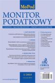 Monitor Podatkowy Nr 1/2019