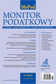 Monitor Podatkowy Nr 6/2019