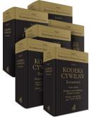 PAKIET: Kodeks cywilny. Komentarz. Tom I - IV B (6 tomów)