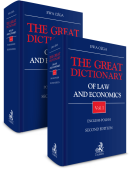 PAKIET: The Great Dictionary of Law and Economics. Vol. I. English - Polish + Vol. II. Polish - English