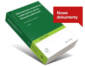 Dokumentacja wewnętrzna w jednostkach finansów publicznych