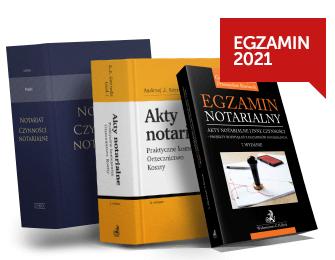 Egzamin notarialny 2021