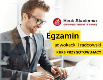 Kurs do egzaminu adwokackiego i radcowskiego 2018