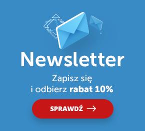 Newsletter - Zapisz się i odbierz rabat 10%