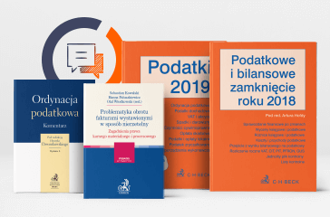 Literatura podatkowa - publikacje w przedsprzedaży z darmową wysyłką!