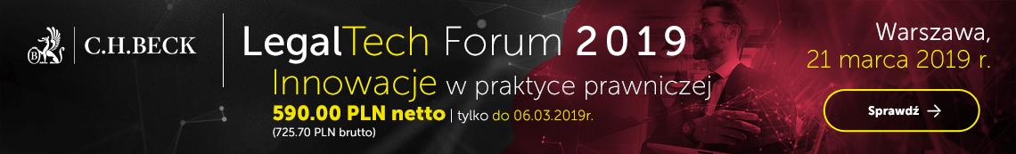 LegalTech forum 2019