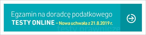 Pakiet testów: Doradca podatkowy