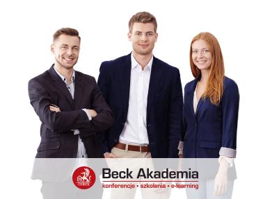 Szkolenia dla praktyków - Beck Akademia
