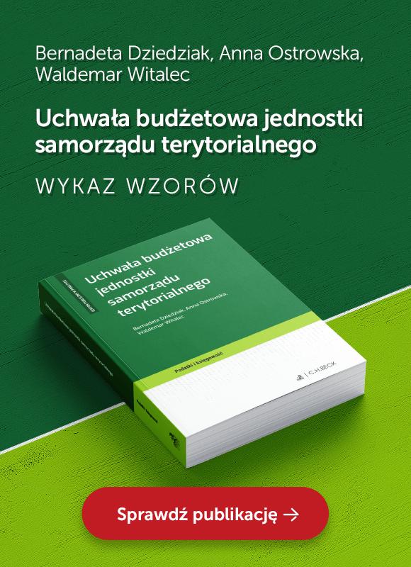 Uchwała budżetowa jednostki samorządu terytorialnego
